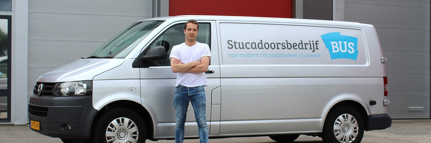 Stucadoor Huizen, Richard Bus